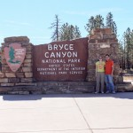 Bryce Canyon NP Entrace Sign